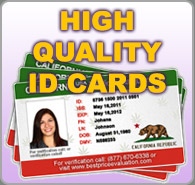 High Quality ID Cards
